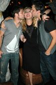 Drew Seeley with Jennifer Leeser and Brandon Slavinski  at the Birthday Party for Jennifer Leeser. M