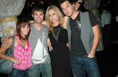 Amy Paffrath, Drew Seeley, Jennifer Leeser, Brandon Slavinski  at the Birthday Party for Jennifer Le