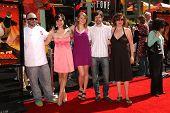 Duff Goldman and the cast of