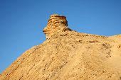 stock photo of tozeur  - Camel head rock one of the tourist stops in Ong Jemel TozeurTunisia - JPG