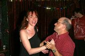 Kyle T. Heffner and Jenny McShane  at the birthday party for J. Nathan Brayley, Amagis, Hollywood, C