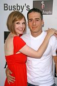Kiersten Warren and Kirk Acevedo  at