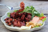 Deep Fried Fermented Pork Rib