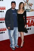 Jackie Sandler and Adam Sandler  at the