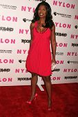 Omarosa Manigault-Stallworth  at the Nylon Magazine and Myspace Party. Private Location, Los Angeles