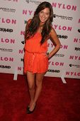 Jasmine Dustin  at the Nylon Magazine and Myspace Party. Private Location, Los Angeles, CA. 06-03-08