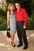 Tracey E. Bregman and Christian LeBlanc  at The Daytime Emmy Nominee Reception. Savannah Restaurant, Burbank, CA. 06-09-08