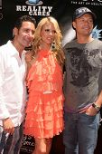 Todd Krim with Shana Wall and Ryan Seacrest  at