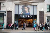 Mango store in London