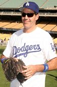Adam Carolla  at The 50th Annual Hollywood Stars Game hosted by the Los Angeles Dodgers. Dodgers Sta