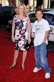 Virginia Madsen and son Jack  at the World Premiere of