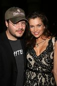 Adam Rifkin and Alicia Arden  at the Preview Screening of