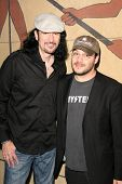 Bruce Kulick and Adam Rifkin  at the Preview Screening of