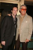 Marc Clebanoff and Chad Everett  at the Los Angeles Premiere of
