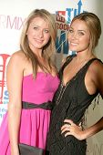 Lauren Bosworth and Lauren Conrad  at the VH1 Rock Honors Party. Intermix Boutique, Los Angeles, CA. 07-11-08