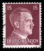 German Reich Postage Stamp From 1942