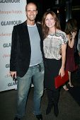 Edoardo Ponti and Sasha Alexander at the 2007 Glamour Reel Moments Party. Directors Guild Of America