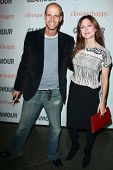 Edoardo Ponti and Sasha Alexander  at the 2007 Glamour Reel Moments Party. Directors Guild Of Americ