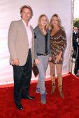 John Schneider and family at the 2007 World Magic Awards to benefit Feed The Children. Barker Hangar, Santa Monica, CA. 10-13-07