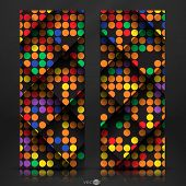 Abstract Colorful Mosaic Pattern Design.