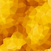 Triangle sunny seamless pattern
