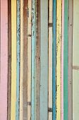 Vintage Color Wood Background