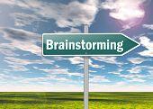 Signpost Brainstorming