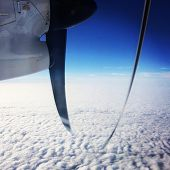 Airplane Propeller - instagram effect