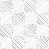Diagonal White Offset Squares Pattern