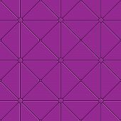 Purple Triangular Tile Ornament