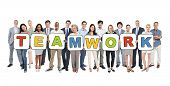 Multi-Ethnic Group of Business People and Teamwork Concepts