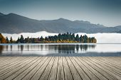 picture of bavaria  - An image of the Walchensee in Bavaria Germany - JPG