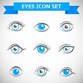Eyes Icons Set