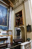 PARMA, ITALY - MAY 01, 2014: Church of Saint Vitale. The church of St Vitale is located in the histo