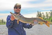 Fisherman with Northern Pike 2