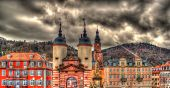Entrance To Heidelberg From Karl Theodor Bridge - Germany