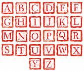 Rubber Stamp Letters