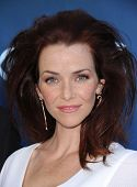 LOS ANGELES - JUN 06:  Annie Wersching arrives to the 'Extant' Premiere Party  on June 06, 2014 in L