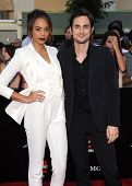 LOS ANGELES - JUN 09:  Amber Stevens & Andrew West arrives to the