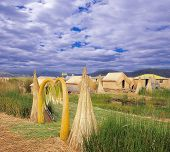 Uros floating islands.