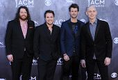 LOS ANGELES - APR 06:  Eli Young Band arrives to the 49th Annual Academy of Country Music Awards   o