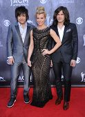 LOS ANGELES - APR 06:  The Band Perry arrives to the 49th Annual Academy of Country Music Awards   o