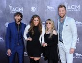 LOS ANGELES - APR 06:  Lady Antebellum & Stevie Nicks arrives to the 49th Annual Academy of Country