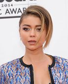 LAS VEGAS - MAY 18:  Sarah Hyland arrives to the Billboard Music Awards 2014  on May 18, 2014 in Las