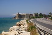 Mamure Fortress In Turkey