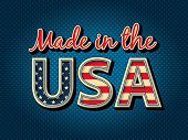 Made in the USA. EPS 8, CMYK
