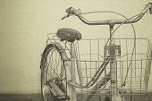 Vintage Bicycle Old Background