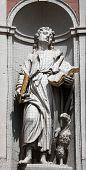 WURZBURG, GERMANY - JULY 18: St. John the Evangelist, Neumunster Collegiate Church, built in 1060 an