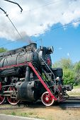 L-2344 Steam Locomotive, Moscow, Russia