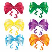 Set of nice bows